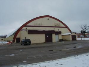 Canadian Arena GluLam Repair