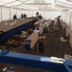St Katharine dock temporary workshop