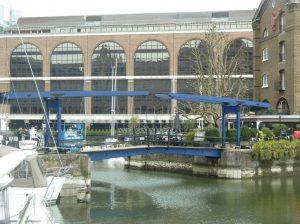 St Katharines Dock Bridge
