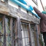 Oak bessemer beam Great Barwick