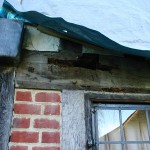 Oak beam repair - Great Barwick