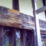 Oak beam repairs - Great Barwick
