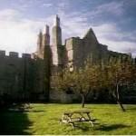 Aydon castle exterior