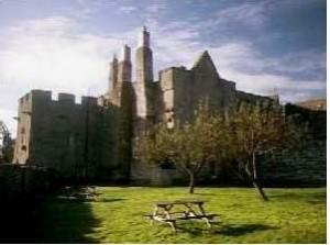 Aydon Castle Floor Joist repairs