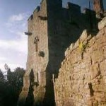 Aydon castle walls