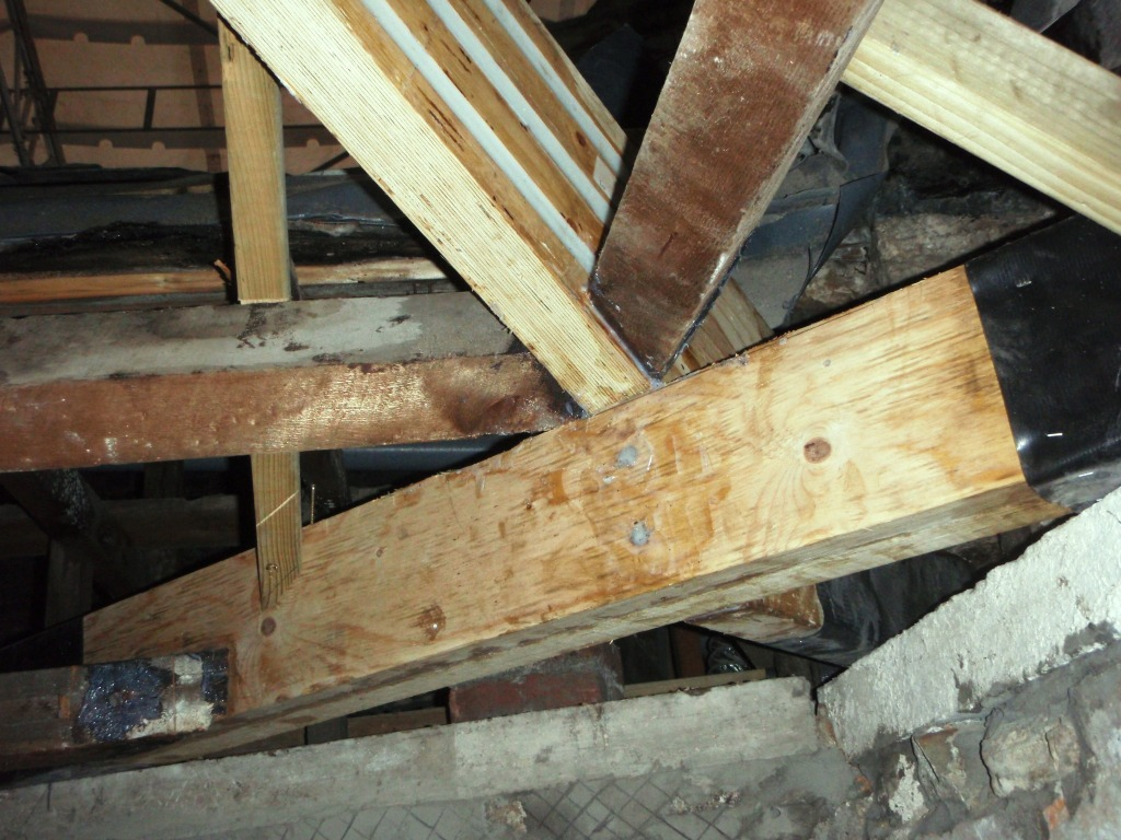 Clyne Castle Repair To Timber Roof Joists Rotafix