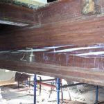 Repairs to beam Sacra Infermeria